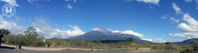 Panorama des Mount Meru.