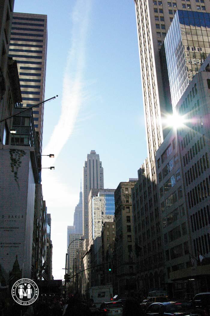 Die 5th Avenue ist eine der bekanntesten Straßen in New York.