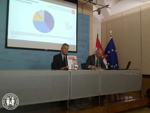 Außenministerium Pressekonferenz