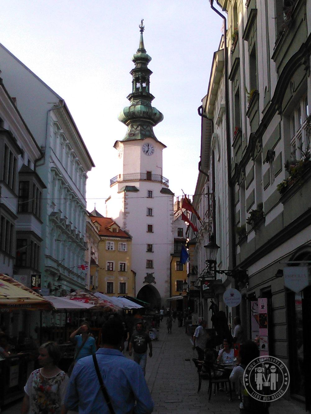 Das Michaelertor in Bratislava